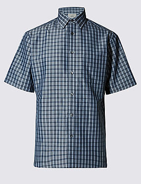Modal Blend Easy Care Shirt with Pocket