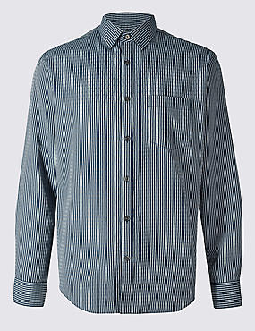 Easy Care Modal Rich Textured Shirt