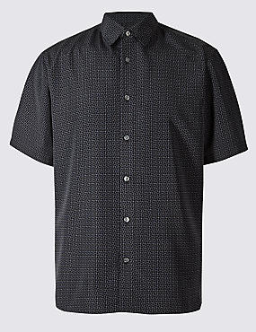 Easy Care Modal Printed Shirt