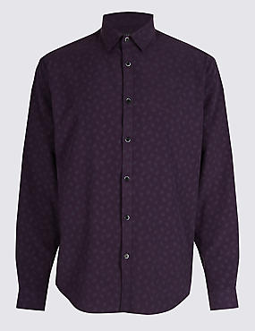Luxury Soft Touch Paisley Print Shirt