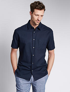 Linen Blend Outstanding Value Shirt