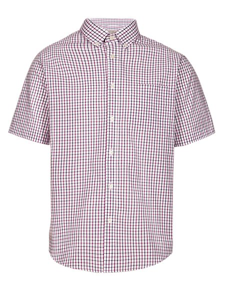 Pure Cotton Heritage Checked Shirt