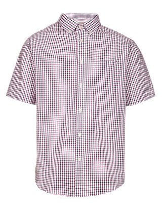 Pure Cotton Heritage Checked Shirt Clothing
