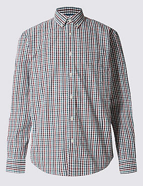 Big & Tall Pure Cotton Shirt with Pocket