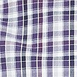 Pure Cotton Checked Shirt with Pocket, PURPLE MIX, swatch