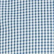 Pure Cotton Checked Shirt with Pocket, SMOKEY BLUE, swatch