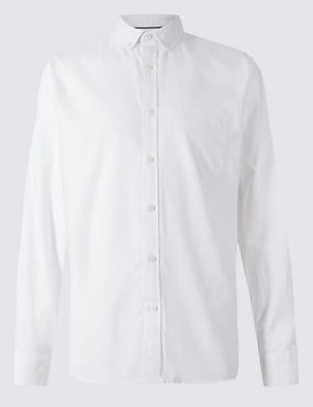 Pure Cotton Easy Care Oxford Shirt
