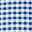 Pure Cotton Checked Oxford Shirt, NAVY, swatch