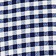 Pure Cotton Slim Fit Checked Oxford Shirt, NAVY, swatch
