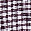 Pure Cotton Slim Fit Checked Oxford Shirt, BURGUNDY, swatch