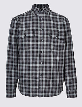 Buffalo Check Overshirt