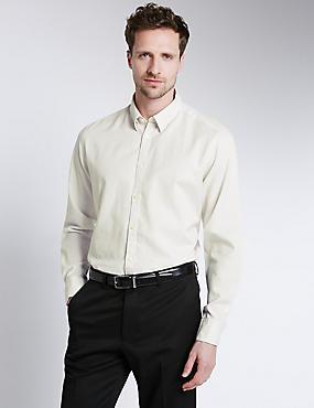 Italian Fabric Pure Egyptian Cotton Tailored Fit Shirt