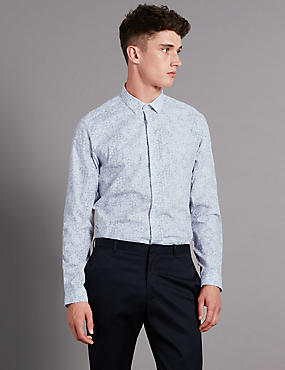Supima® Cotton Luxury Tailored Fit Shirt