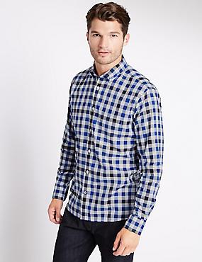 Mens big tall casual shirts for men m s for Big n tall shirts
