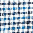 Luxury Brushed Cotton Checked Shirt, NAVY MIX, swatch