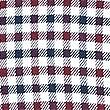 Luxury Brushed Cotton Checked Shirt, BURGUNDY MIX, swatch