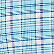 Pure Cotton Checked Shirt with Pocket, AQUA, swatch