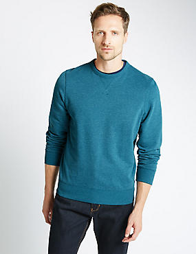 Cotton Rich Sweatshirt