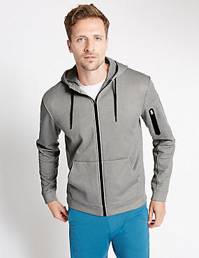 Tailored Fit Hooded Top