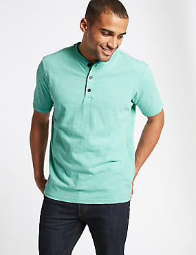 Pure Cotton Textured Authentic Top, AQUA, catlanding