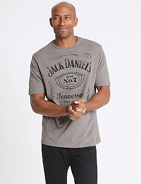 Pure Cotton Jack Daniels T-Shirt