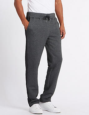 Cotton Rich Twin Stripe Joggers