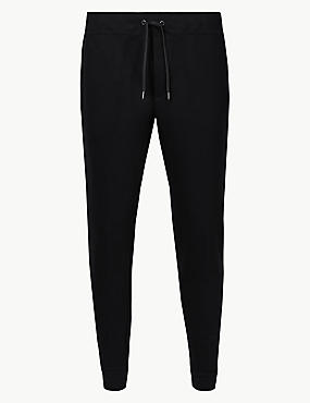 Slim Fit Joggers , BLACK, catlanding
