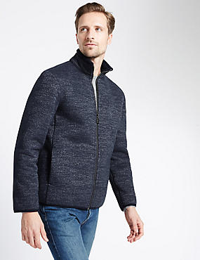 Heavyweight Textured Fleece Top