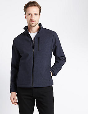Tailored Fit Bonded Seam Fleece Jacket