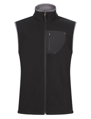 Anti Bobble Thermal Microfleece Gilet Clothing