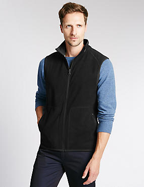 Gilet Fleece Top