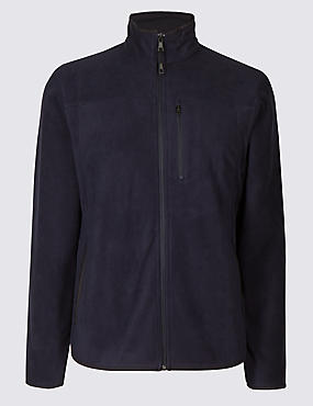 Pure Cotton Fleece Lined Jacket