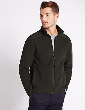 Tailored Fit Textured Quilted Jacket