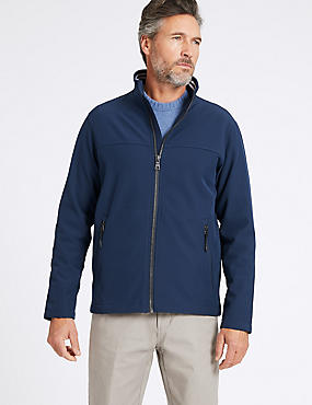 Fleece Lined Jacket with Stormwear™ , NAVY, catlanding