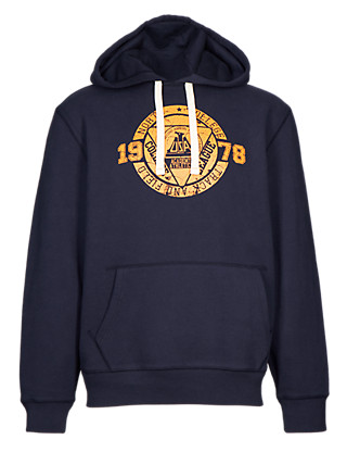 Printed Hooded Top Clothing