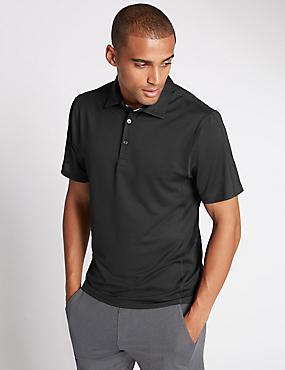 Tailored Fit Polo Shirt with StayNEW™