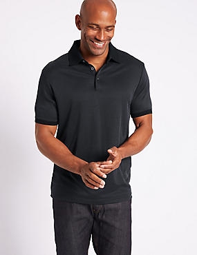 Slim Fit Modal Rich Polo Shirt