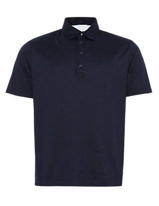 Pure Cotton Polo Shirt Clothing