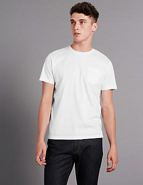 Pure Cotton Tailored Fit T-Shirt