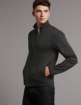 Slim Fit Long Sleeve Sweatshirt