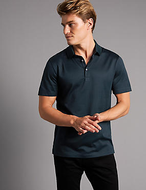 Supima® Pure Cotton Polo Shirt