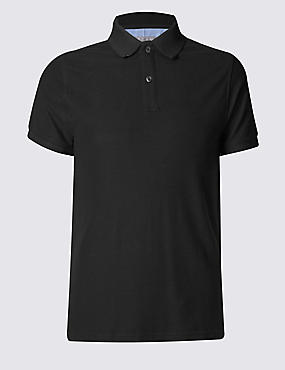 Big & Tall Pure Cotton Polo Shirt with StayNEW™