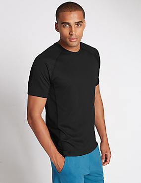 Tailored Fit Crew Neck T-Shirt with StayNEW™