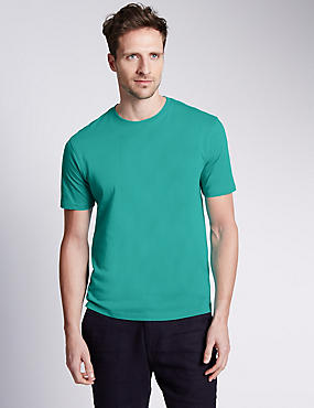 Pure Cotton T-Shirt with StayNEW™& Stay Soft