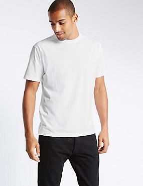 Pure Cotton T-Shirt with StayNEW™ & Stay Soft