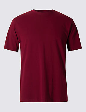Big & Tall Pure Cotton Stay Soft T-Shirt with StayNEW™