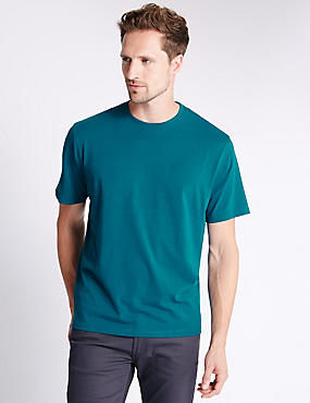 Pure Cotton Stay Soft T-Shirt with StayNEW™