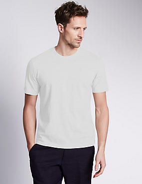 Big & Tall Pure Cotton Crew Neck T-Shirt