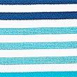 Pure Cotton Striped Polo Shirt, BLUE MIX, swatch