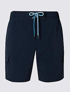 Quick Dry Cargo Swim Shorts